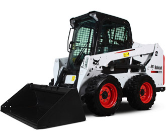 BOBCAT-1-TONNE-SKID-STEER-LOADER-WITH-4-IN1-BUCKET-&-TRAILER